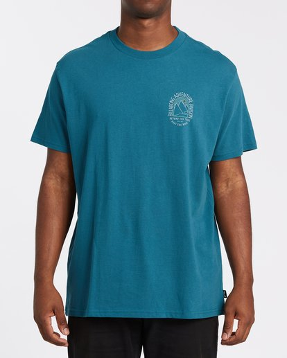 0 Beyond Short Sleeve T-Shirt Blue M4042BBE Billabong