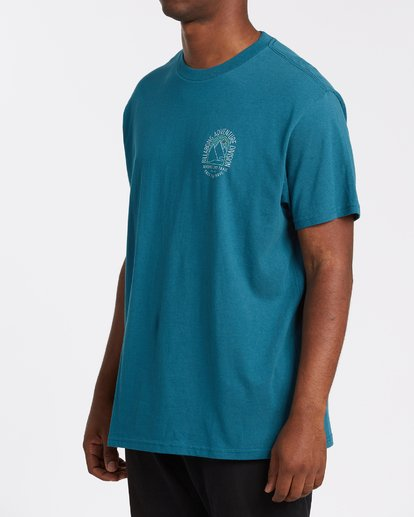 1 Beyond Short Sleeve T-Shirt Blue M4042BBE Billabong