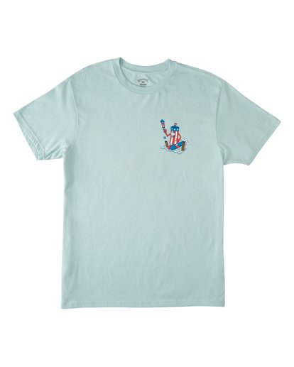 3 Boom Short Sleeve T-Shirt Blue M4042BBO Billabong