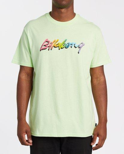 0 Brushed Short Sleeve T-Shirt Brown M4042BBR Billabong