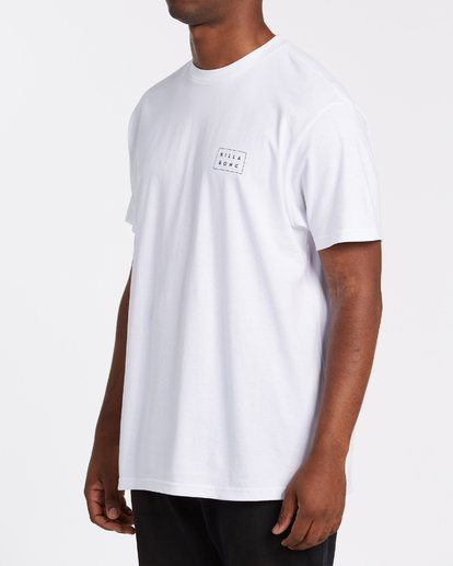 1 Diecut Short Sleeve T-Shirt White M4042BDC Billabong