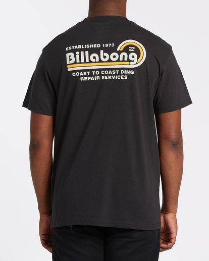 2 Ding Repair Short Sleeve T-Shirt Black M4042BDI Billabong