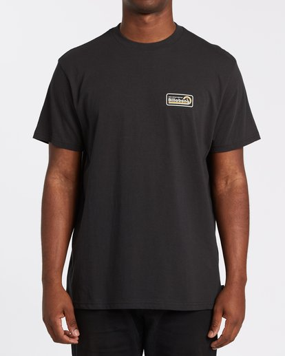 0 Ding Repair Short Sleeve T-Shirt Black M4042BDI Billabong