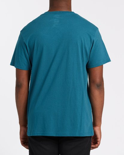 2 Frotor Short Sleeve T-Shirt Blue M4042BFR Billabong