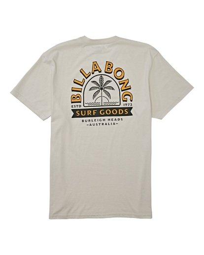 4 Goods Short Sleeve T-Shirt Brown M4042BGD Billabong