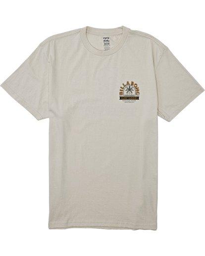 3 Goods Short Sleeve T-Shirt Brown M4042BGD Billabong