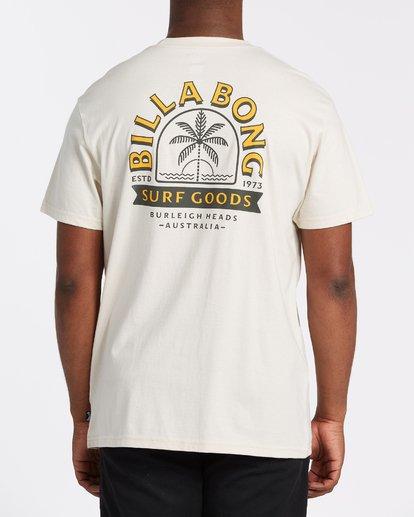 2 Goods Short Sleeve T-Shirt Brown M4042BGD Billabong