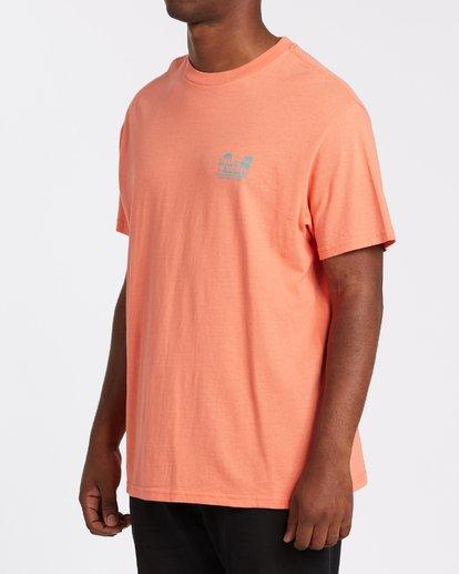 1 Lounge Short Sleeve T-Shirt Orange M4042BLO Billabong