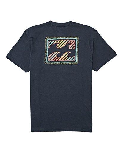 4 Nosara Short Sleeve T-Shirt Blue M4042BNO Billabong