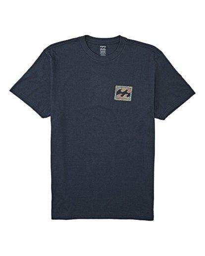 3 Nosara Short Sleeve T-Shirt Blue M4042BNO Billabong
