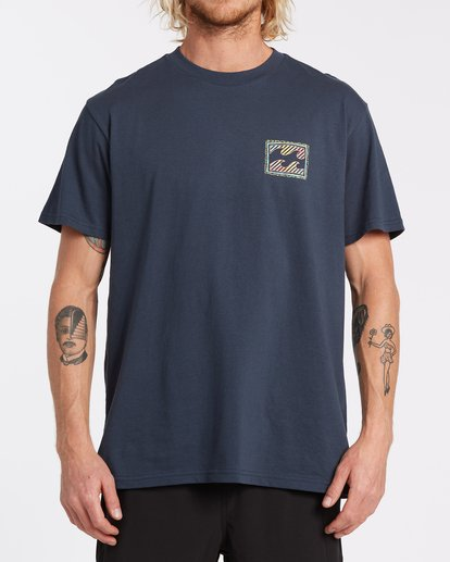 0 Nosara Short Sleeve T-Shirt Blue M4042BNO Billabong