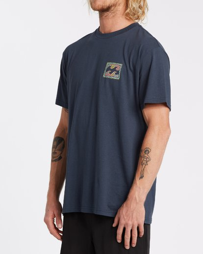 1 Nosara Short Sleeve T-Shirt Blue M4042BNO Billabong