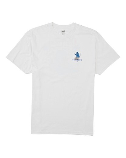 3 Olas Falsas Short Sleeve T-Shirt White M4042BOF Billabong