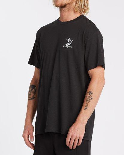 1 Olas Falsas Short Sleeve T-Shirt Black M4042BOF Billabong