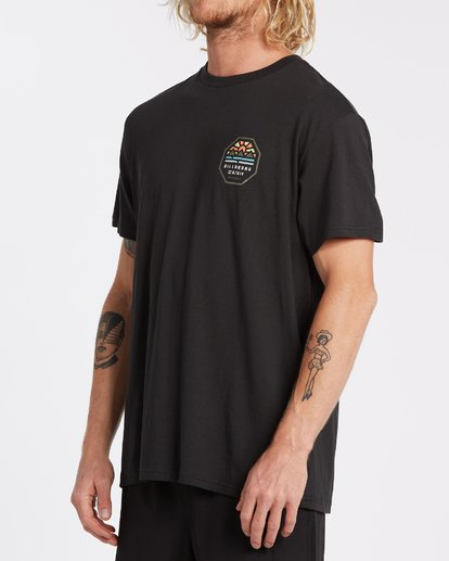 1 Polygon Short Sleeve T-Shirt Black M4042BPO Billabong