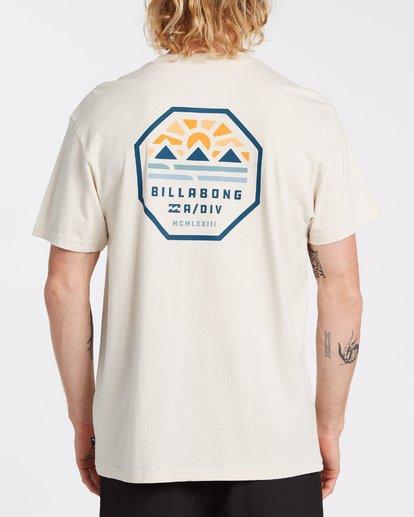 2 Polygon Short Sleeve T-Shirt Brown M4042BPO Billabong