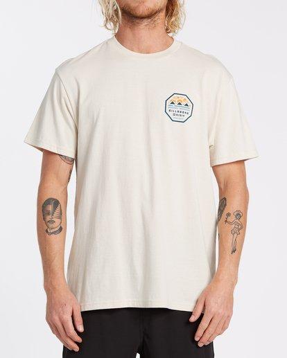 0 Polygon Short Sleeve T-Shirt Brown M4042BPO Billabong