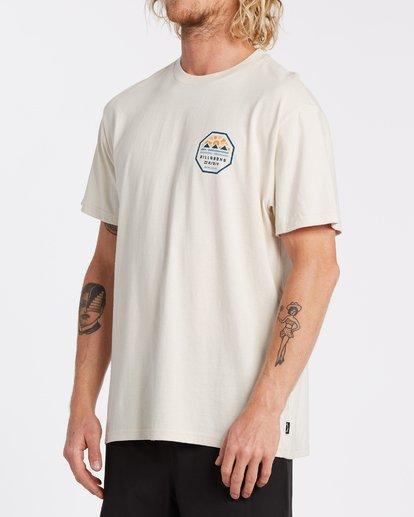 1 Polygon Short Sleeve T-Shirt Brown M4042BPO Billabong