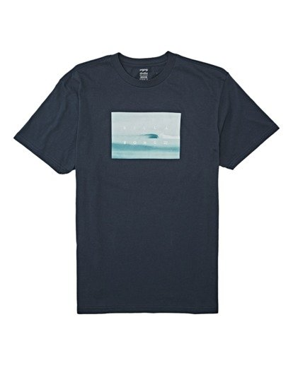 3 Scenic Short Sleeve T-Shirt Blue M4042BSC Billabong