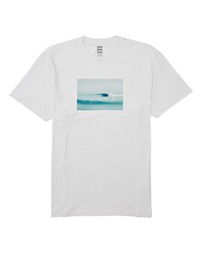 3 Scenic Short Sleeve T-Shirt White M4042BSC Billabong