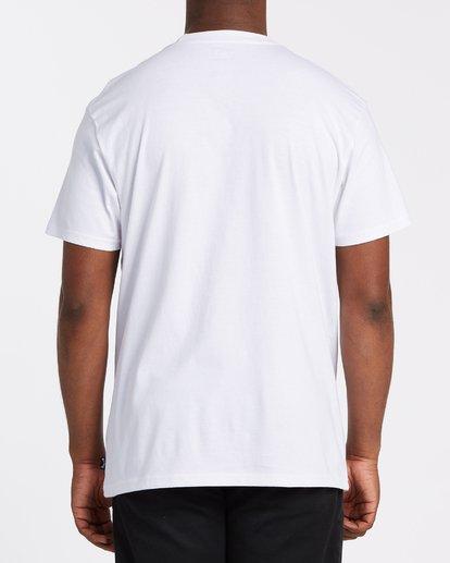 2 Scenic Short Sleeve T-Shirt White M4042BSC Billabong