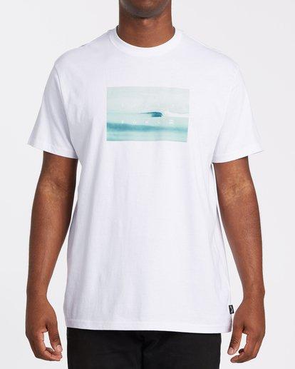 0 Scenic Short Sleeve T-Shirt White M4042BSC Billabong
