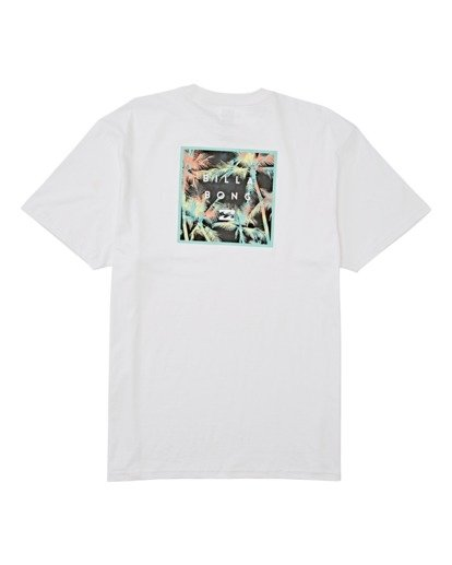 4 Stacked Fill Short Sleeve T-Shirt White M4042BSF Billabong