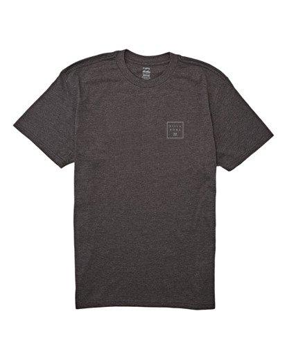 3 Stacked Short Sleeve T-Shirt Black M4042BST Billabong