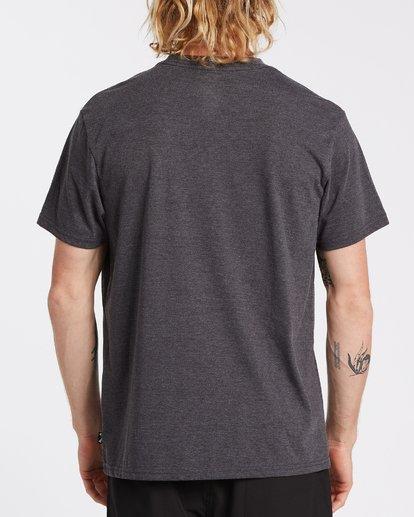 2 Stacked Short Sleeve T-Shirt Black M4042BST Billabong