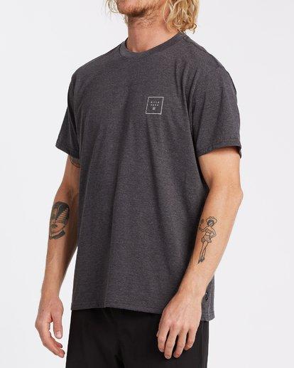 1 Stacked Short Sleeve T-Shirt Black M4042BST Billabong