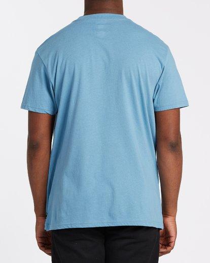 2 Stacked Short Sleeve T-Shirt Grey M4042BST Billabong