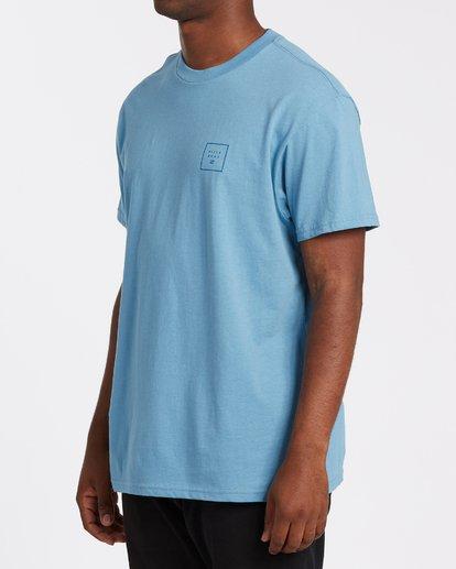 1 Stacked Short Sleeve T-Shirt Grey M4042BST Billabong