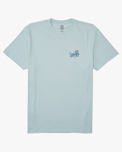 3 Surf Tour Short Sleeve T-Shirt Blue M4042BSU Billabong