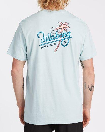 2 Surf Tour Short Sleeve T-Shirt Blue M4042BSU Billabong