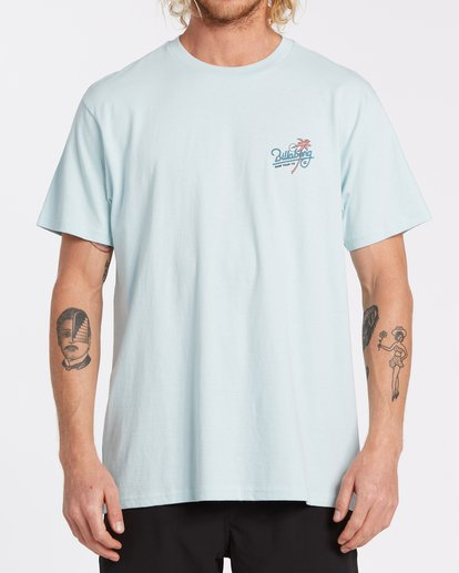 0 Surf Tour Short Sleeve T-Shirt Blue M4042BSU Billabong