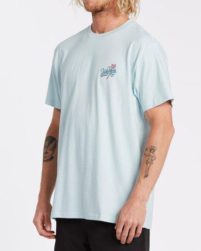 1 Surf Tour Short Sleeve T-Shirt Blue M4042BSU Billabong