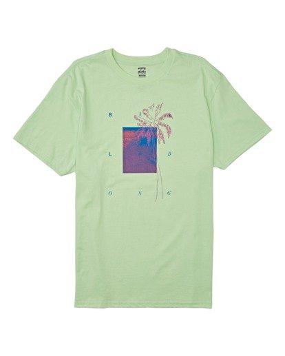 3 Swell Short Sleeve T-Shirt Brown M4042BSW Billabong
