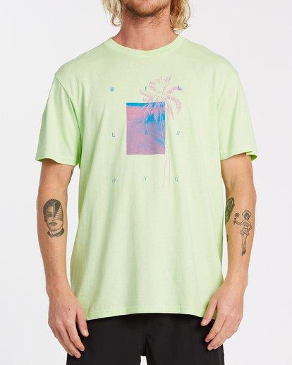 0 Swell Short Sleeve T-Shirt Brown M4042BSW Billabong