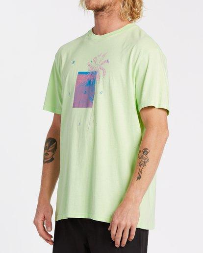 1 Swell Short Sleeve T-Shirt Brown M4042BSW Billabong