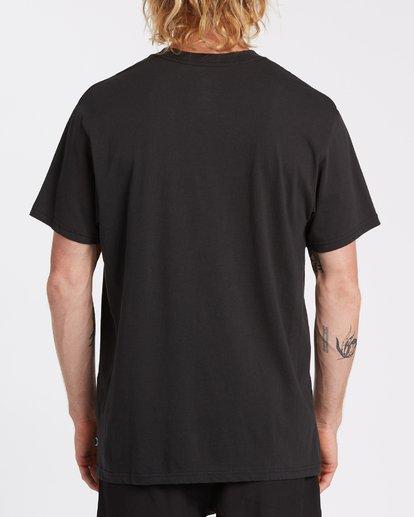 2 Team Wave Short Sleeve T-Shirt Black M4042BTW Billabong