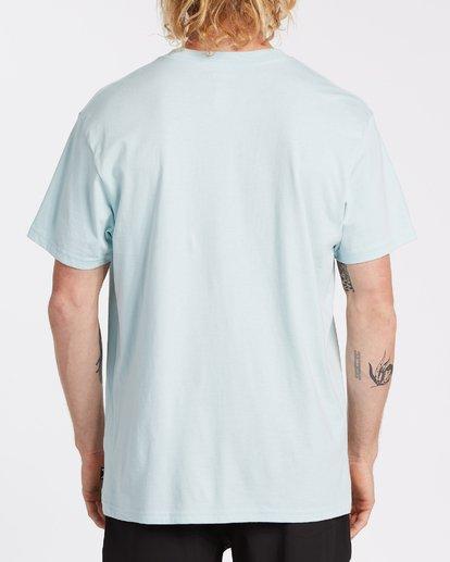 2 Team Wave Short Sleeve T-Shirt Blue M4042BTW Billabong