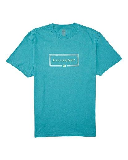 3 Union Short Sleeve T-Shirt Green M4042BUN Billabong