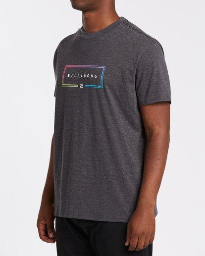 1 Union Short Sleeve T-Shirt Black M4042BUN Billabong