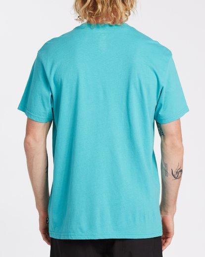 2 Union Short Sleeve T-Shirt Green M4042BUN Billabong