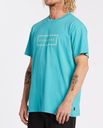 1 Union Short Sleeve T-Shirt Green M4042BUN Billabong