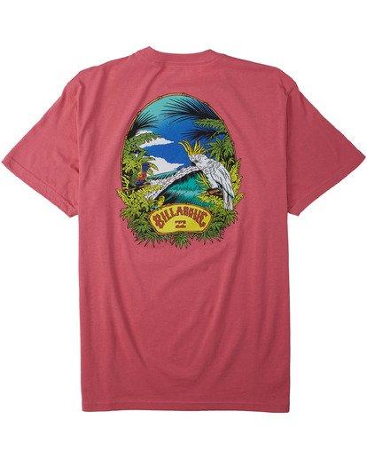 4 Billys Point T-Shirt Pink M4043BBP Billabong