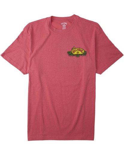 3 Billys Point T-Shirt Pink M4043BBP Billabong