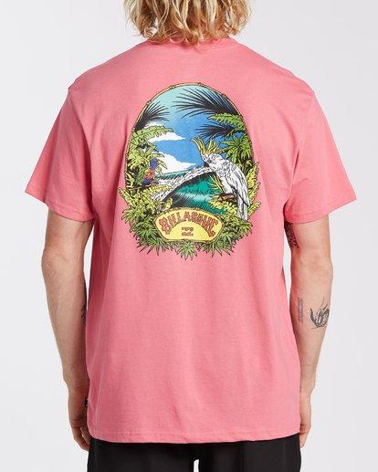2 Billys Point T-Shirt Pink M4043BBP Billabong