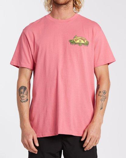 0 Billys Point T-Shirt Pink M4043BBP Billabong