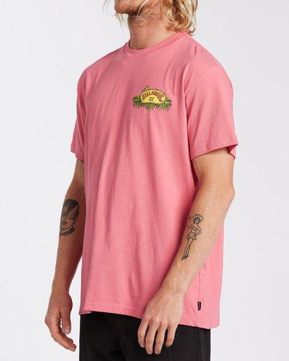 1 Billys Point T-Shirt Pink M4043BBP Billabong